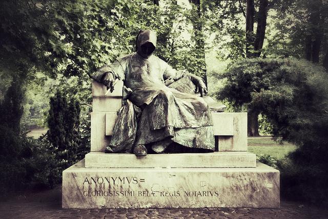 "Foto: ""Anonymus"", Budapest av Emil Stefanov (CC BY-NC-ND 2.0)"