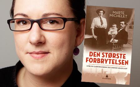 Marte Michelet –vinner av årets Bragepris i sakprosa (Bilde hentet fra www.bokklubben.no)