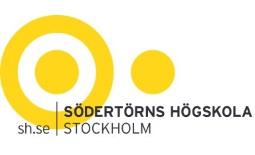 Logo Södertörns högskola