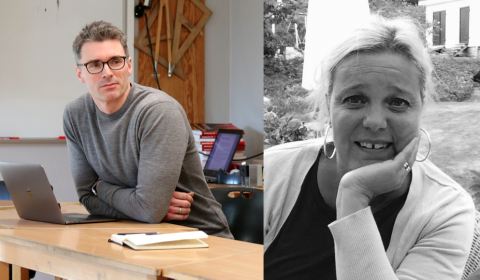 Stig-Börje Asplund (foto: Daniel Olausson) og Birgitta Ljung Egeland