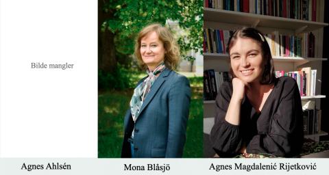 Agnes Ahlsén, Mona Blåsjö og Agnes Magdalenić Rijetković