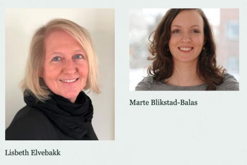 Lisbeth Elvebakk og Marte Blikstad-Balas