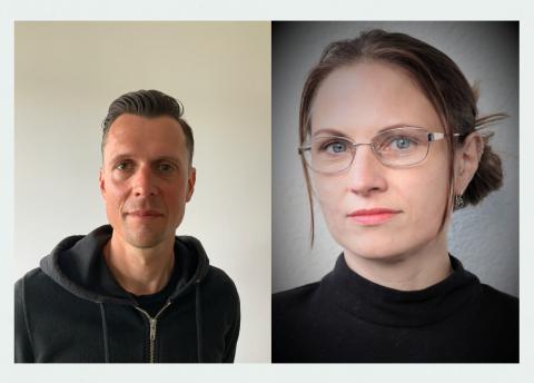 Gustav Westberg og Karin Idevall Hagren